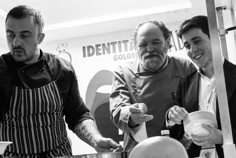 Chef Rubio, Chef Tona e Gianluca Capedri
